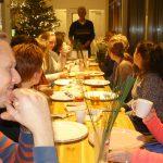 Geslaagde avond workshop Kerstukken maken