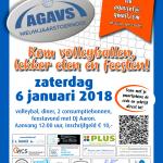 AGAVS nieuwjaarstoernooi 6 januari 2018 aanmeldingsformulier