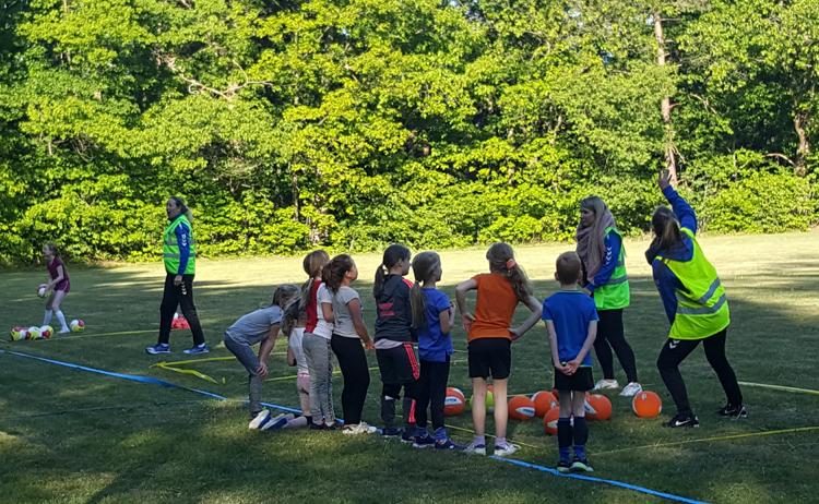 Eerste training jeugd AGAVS-KDK